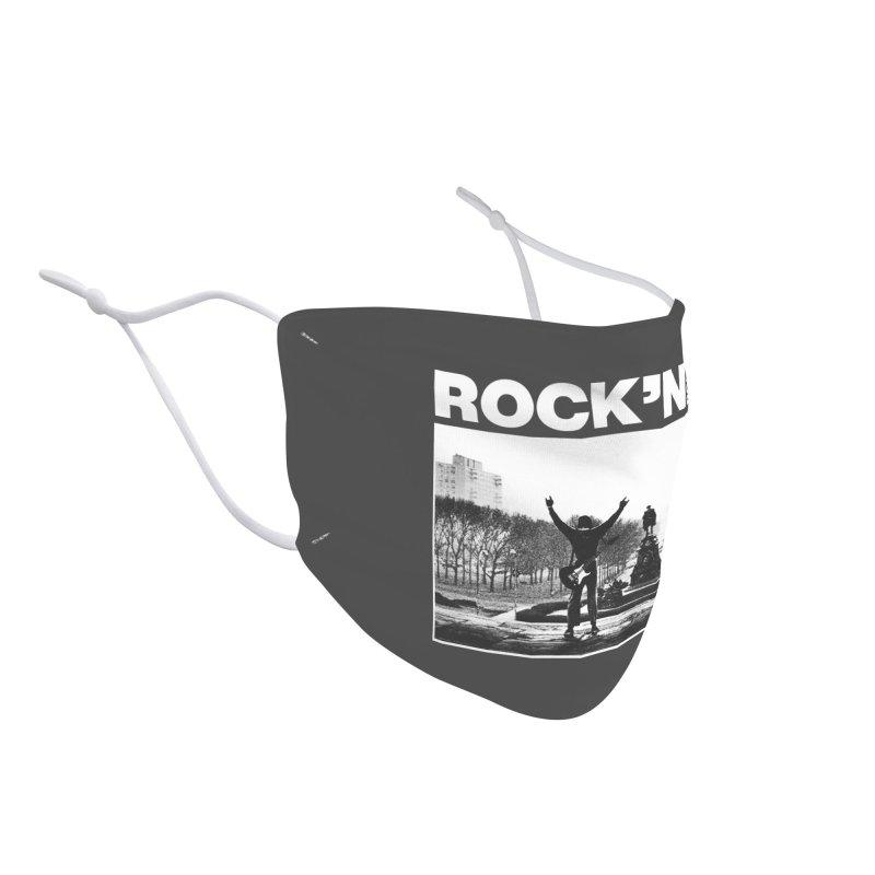 Rock'n Roll Accessories Face Mask by jackduarte's Artist Shop