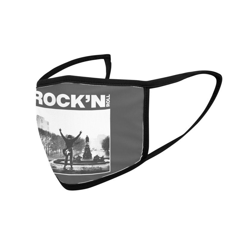 Rock'n Roll Accessories Face Mask by jackduarte's Artist Shop