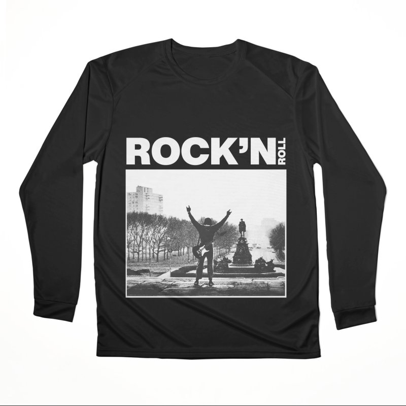 Rock'n Roll Men's Performance Longsleeve T-Shirt by jackduarte's Artist Shop