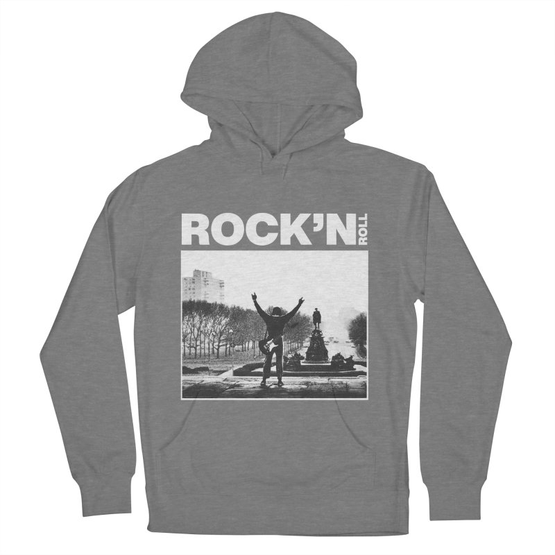 Rock'n Roll Men's French Terry Pullover Hoody by jackduarte's Artist Shop