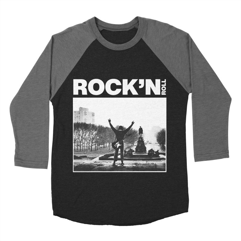 Rock'n Roll Women's Baseball Triblend Longsleeve T-Shirt by jackduarte's Artist Shop