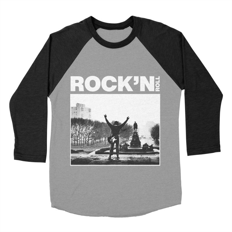 Rock'n Roll Men's Baseball Triblend Longsleeve T-Shirt by jackduarte's Artist Shop