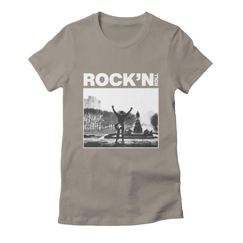 Rock'n Roll Women's T-Shirt by jackduarte's Artist Shop
