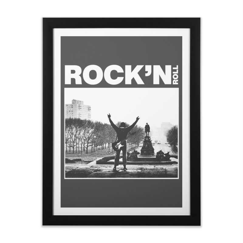 Rock'n Roll Home Framed Fine Art Print by jackduarte's Artist Shop