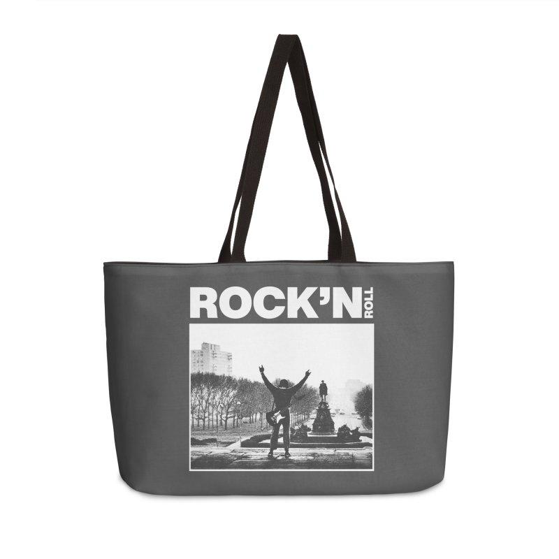 Rock'n Roll Accessories Weekender Bag Bag by jackduarte's Artist Shop