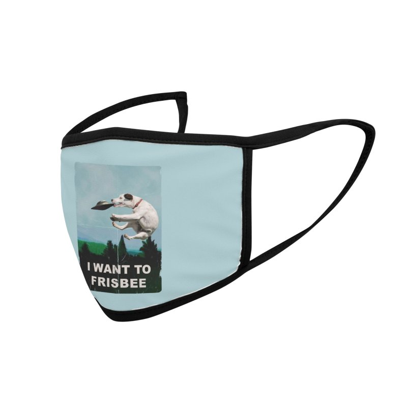 I want Frisbee Accessories Face Mask by jackduarte's Artist Shop