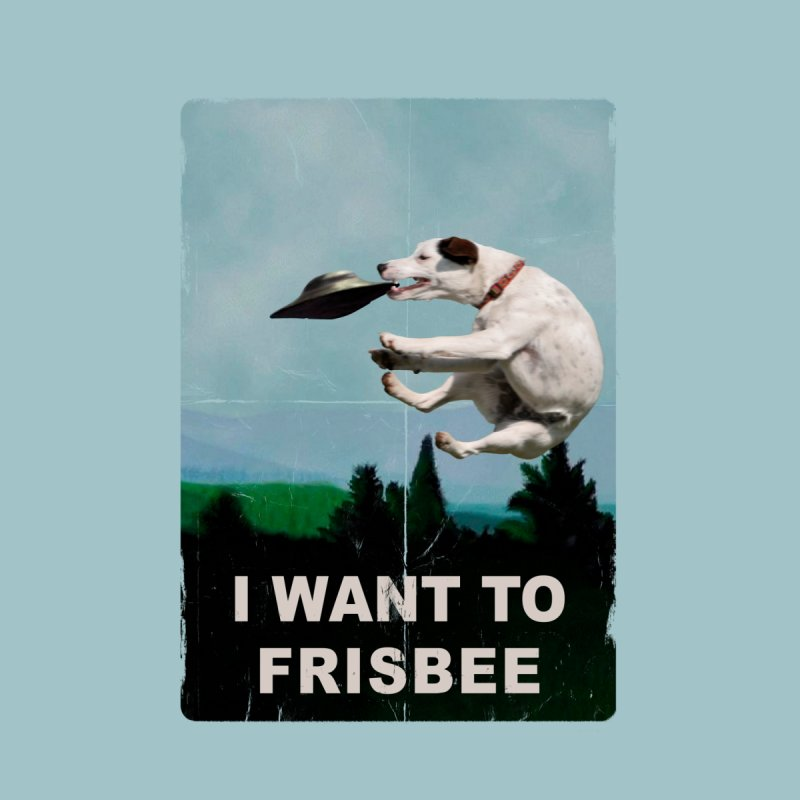 I want Frisbee Kids T-Shirt by jackduarte's Artist Shop