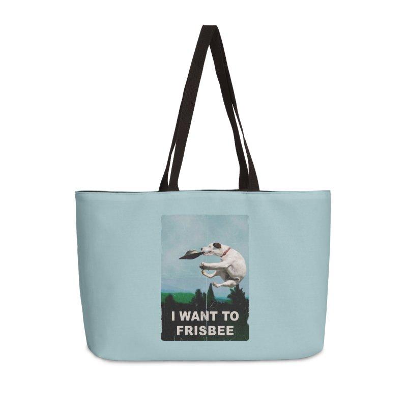 I want Frisbee Accessories Weekender Bag Bag by jackduarte's Artist Shop