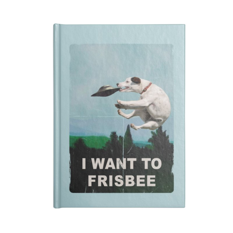 I want Frisbee Accessories Lined Journal Notebook by jackduarte's Artist Shop