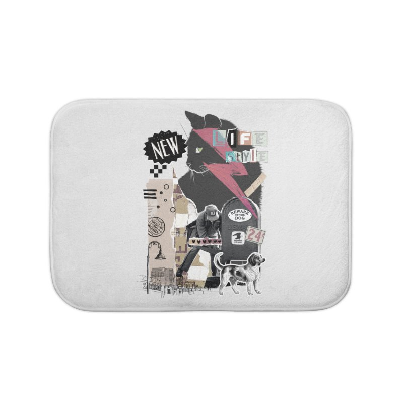 Street style Home Bath Mat by jackduarte's Artist Shop