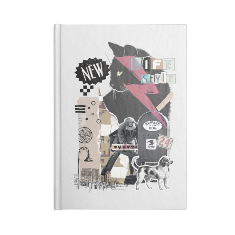 Street style Accessories Notebook by jackduarte's Artist Shop