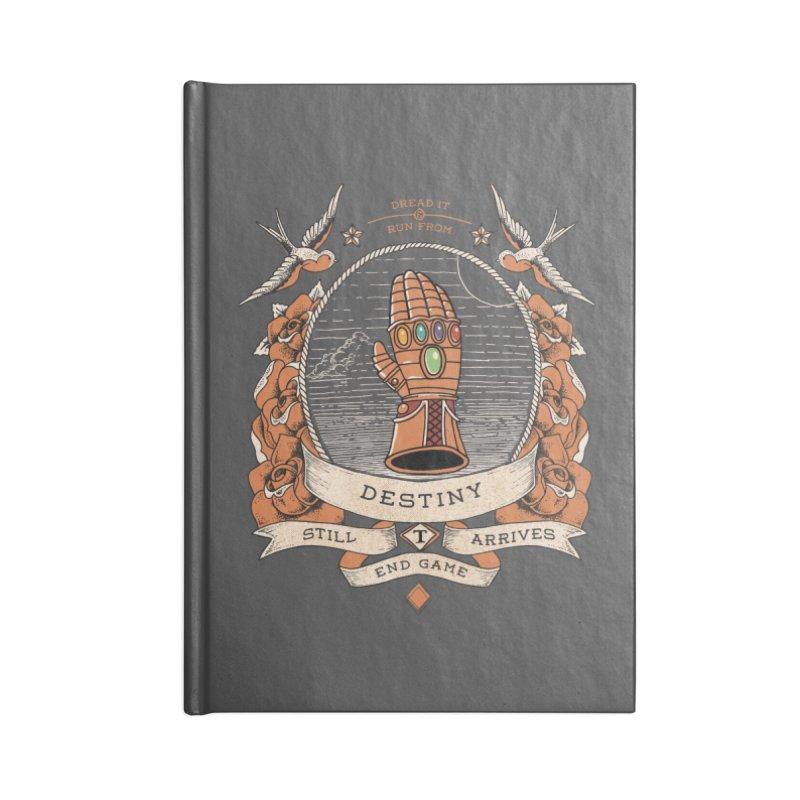Destiny Accessories Notebook by jackduarte's Artist Shop