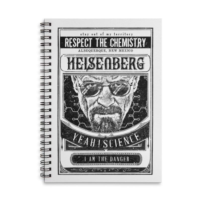 Heisenberg Accessories Notebook by jackduarte's Artist Shop
