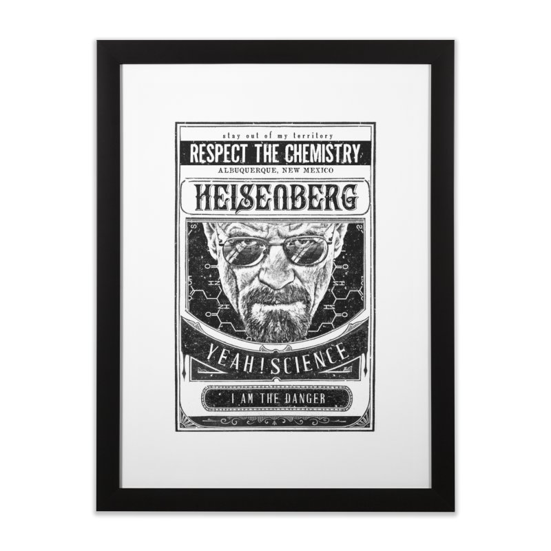 Heisenberg Home Framed Fine Art Print by jackduarte's Artist Shop