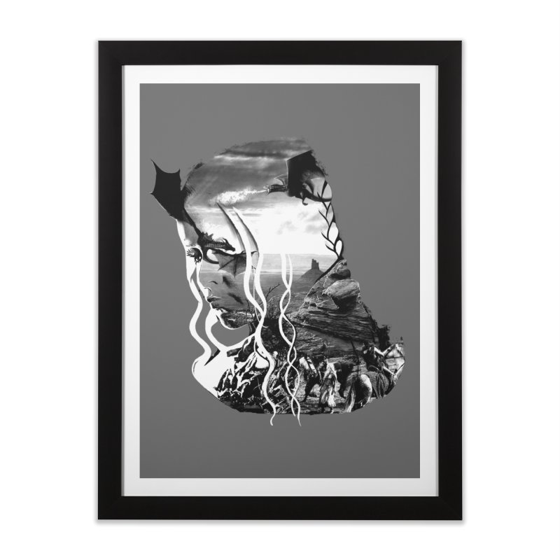 Khallesy Home Framed Fine Art Print by jackduarte's Artist Shop