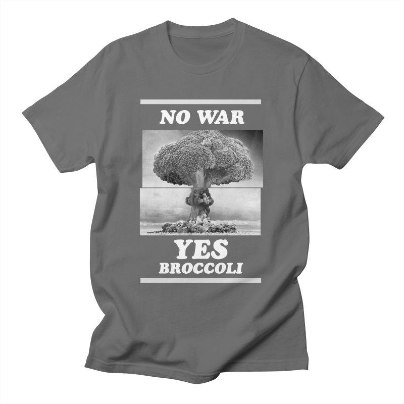 Yes! Broccoli Men's T-Shirt by jackduarte's Artist Shop