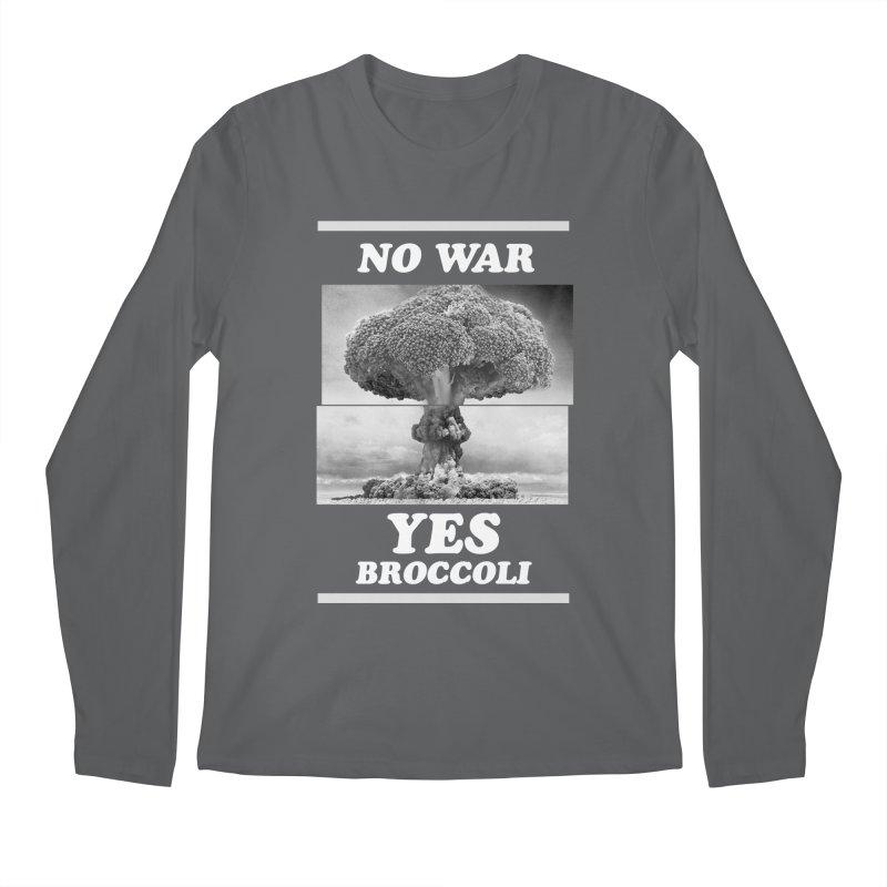 Yes! Broccoli Men's Longsleeve T-Shirt by jackduarte's Artist Shop