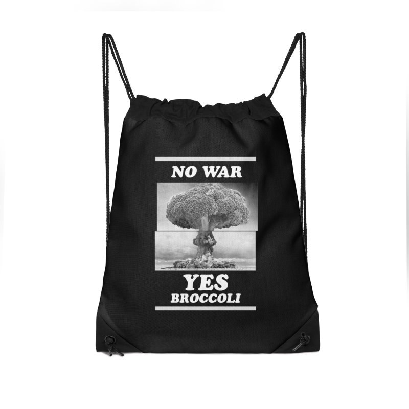 Yes! Broccoli Accessories Bag by jackduarte's Artist Shop