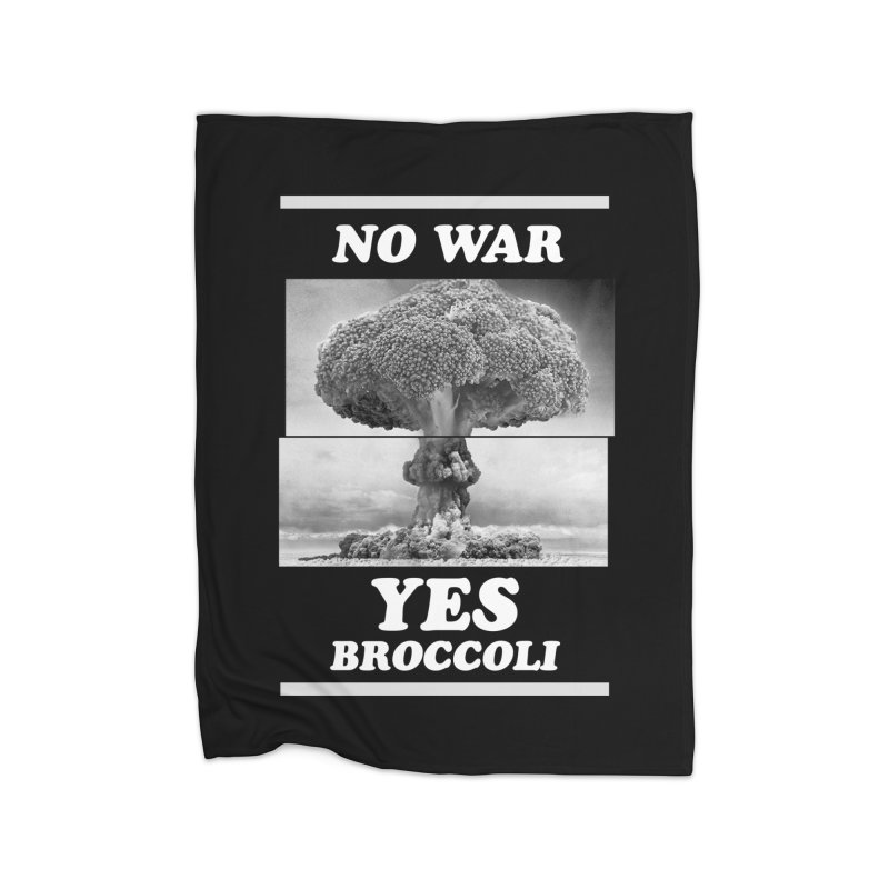 Yes! Broccoli Home Blanket by jackduarte's Artist Shop