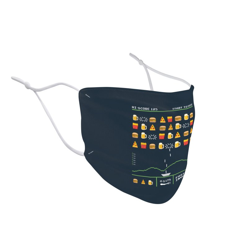 Food Invaders Accessories Face Mask by jackduarte's Artist Shop