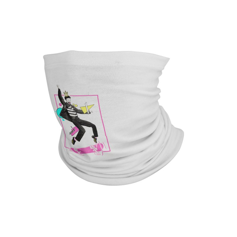 King of Skill Accessories Neck Gaiter by jackduarte's Artist Shop