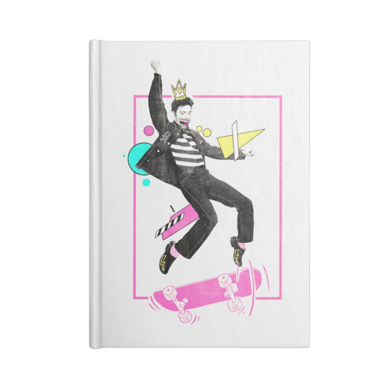 King of Skill Accessories Notebook by jackduarte's Artist Shop
