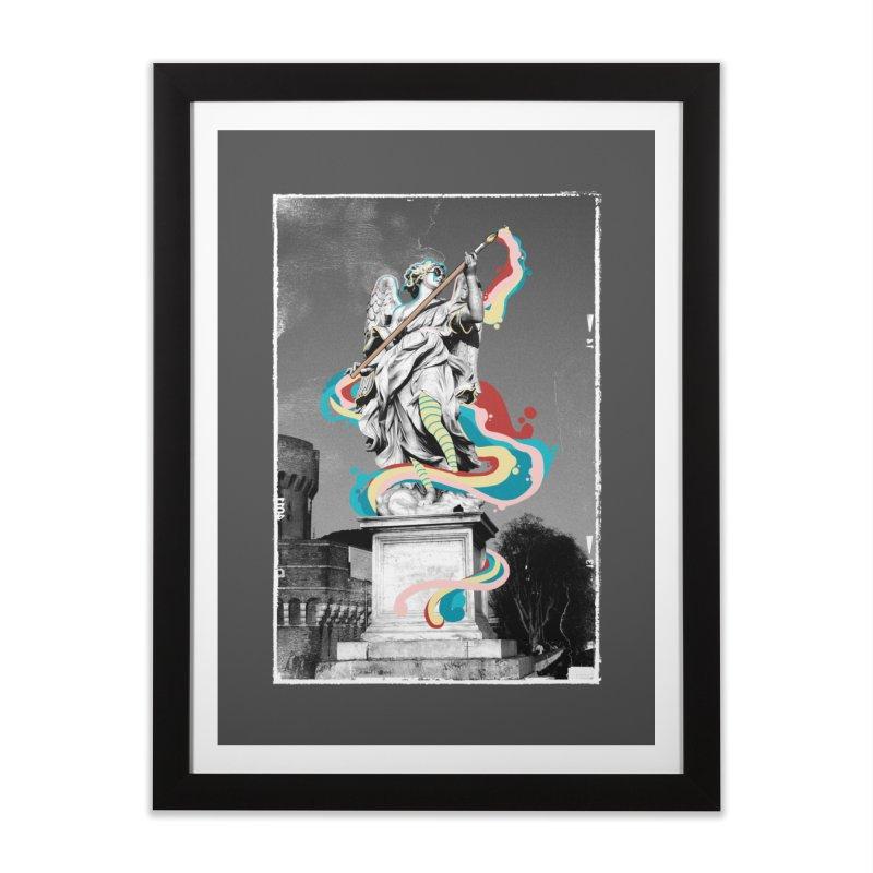 Artist Home Framed Fine Art Print by jackduarte's Artist Shop