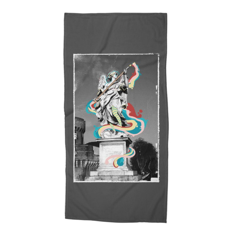 Artist Accessories Beach Towel by jackduarte's Artist Shop