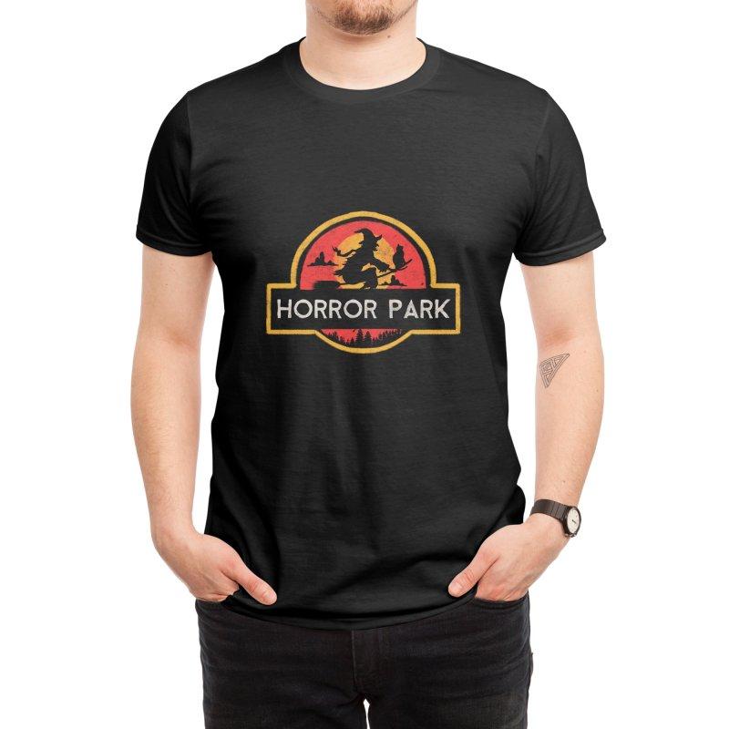 Horror park Men's T-Shirt by jackduarte's Artist Shop