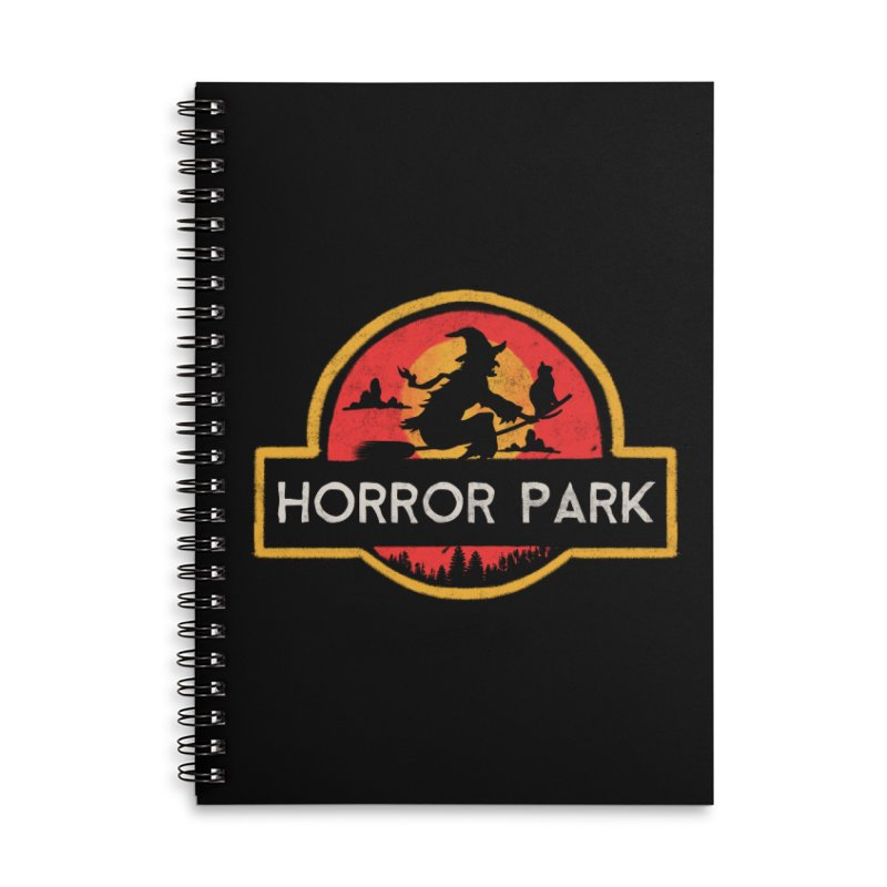 Horror park Accessories Notebook by jackduarte's Artist Shop
