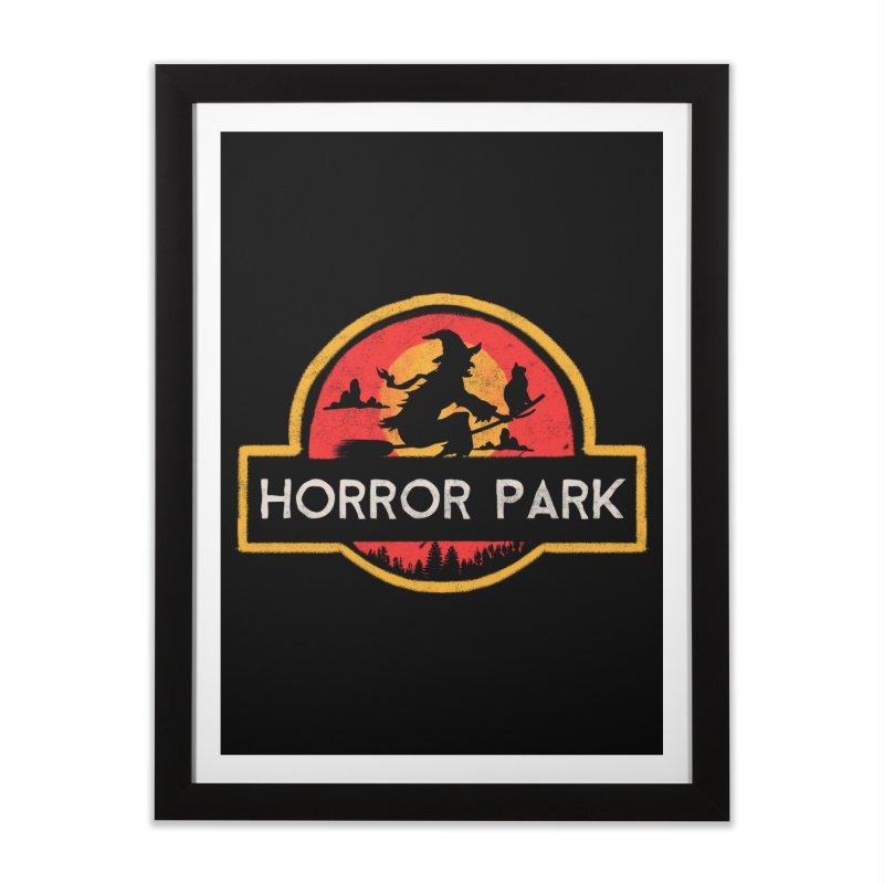 Horror park Home Framed Fine Art Print by jackduarte's Artist Shop