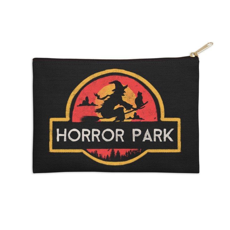 Horror park Accessories Zip Pouch by jackduarte's Artist Shop