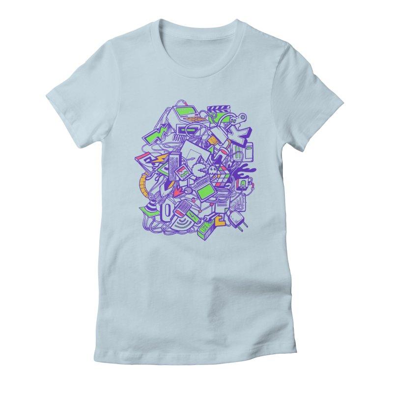 90's Women's T-Shirt by jackduarte's Artist Shop