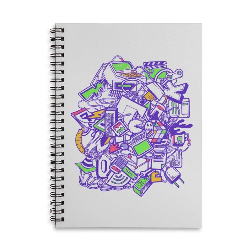 90's Accessories Notebook by jackduarte's Artist Shop