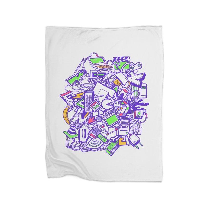 90's Home Blanket by jackduarte's Artist Shop