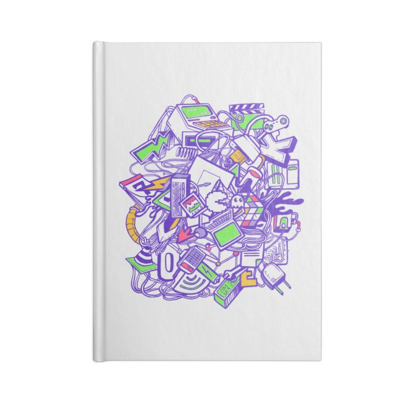 90's Accessories Notebook by jackduarte's Artist Shop
