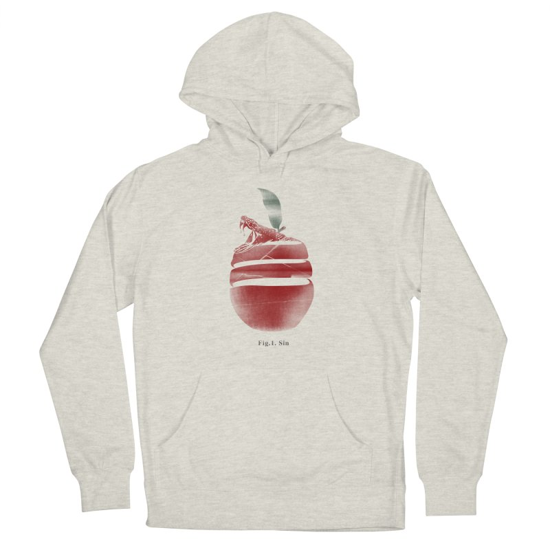 Sin Men's French Terry Pullover Hoody by jackduarte's Artist Shop