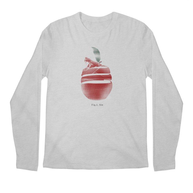 Sin Men's Regular Longsleeve T-Shirt by jackduarte's Artist Shop