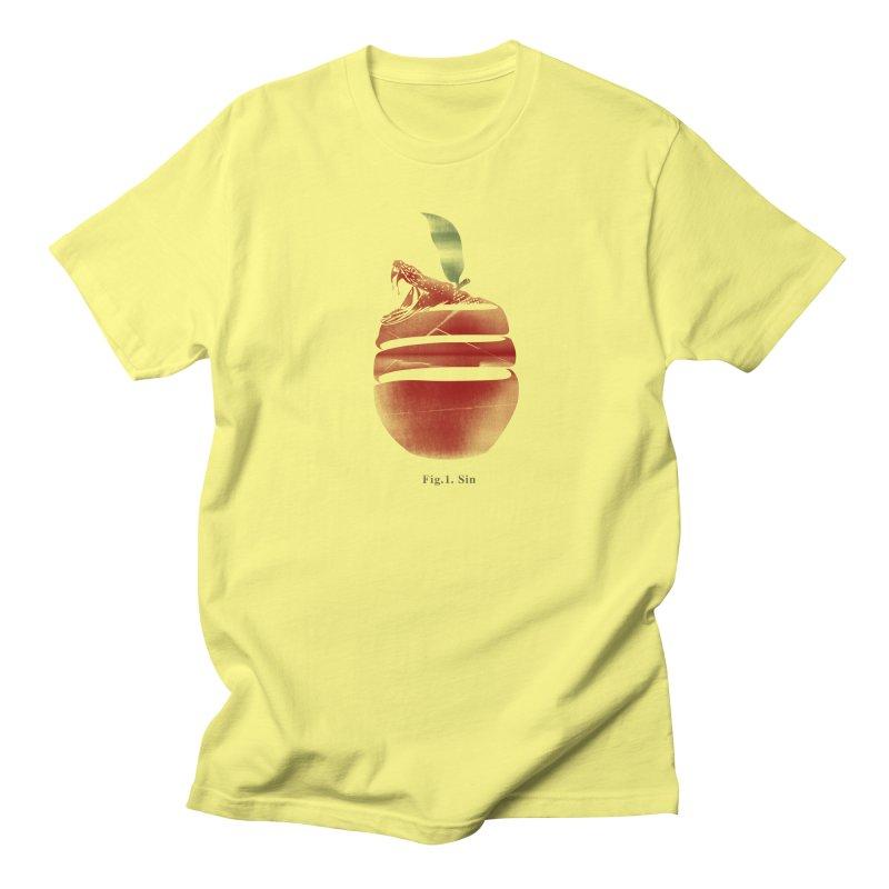 Sin Men's Regular T-Shirt by jackduarte's Artist Shop