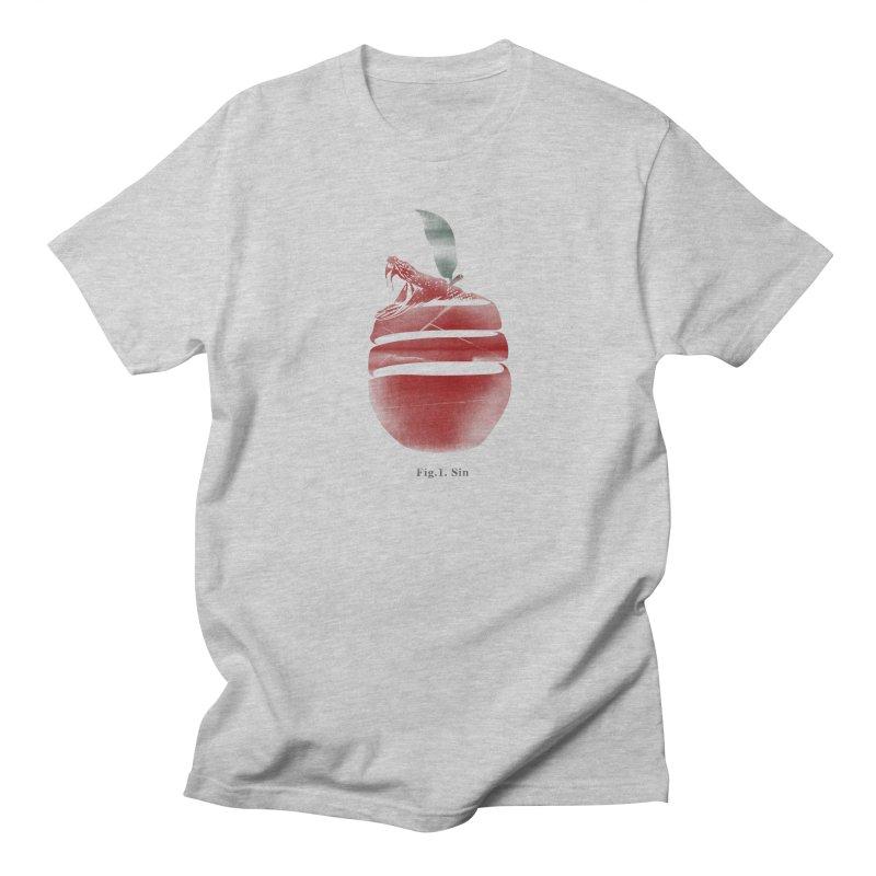 Sin Men's T-Shirt by jackduarte's Artist Shop