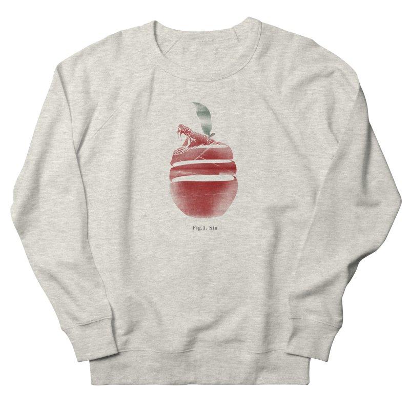 Sin Men's French Terry Sweatshirt by jackduarte's Artist Shop