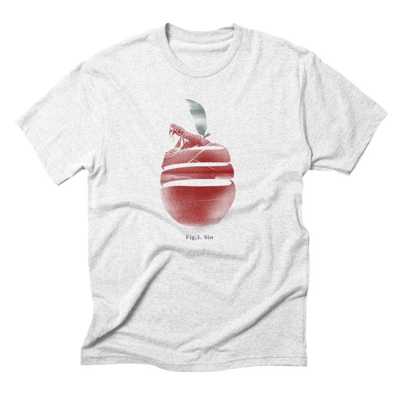 Sin Men's Triblend T-shirt by jackduarte's Artist Shop