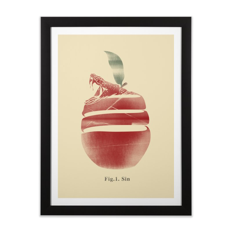 Sin Home Framed Fine Art Print by jackduarte's Artist Shop