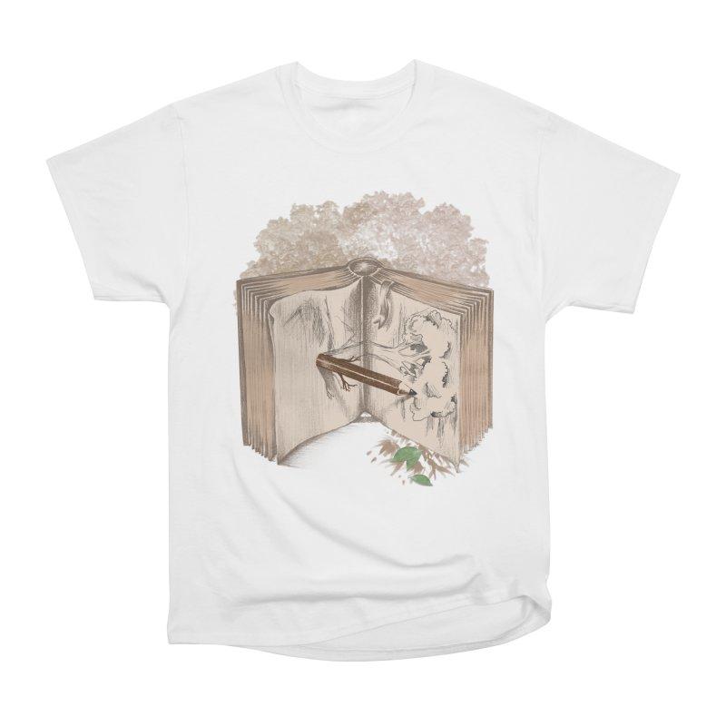 Real sketch Men's Heavyweight T-Shirt by jackduarte's Artist Shop