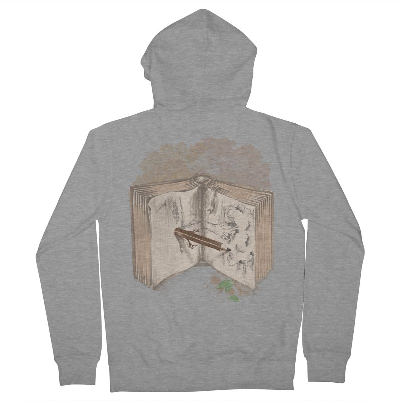 Real sketch Women's French Terry Zip-Up Hoody by jackduarte's Artist Shop
