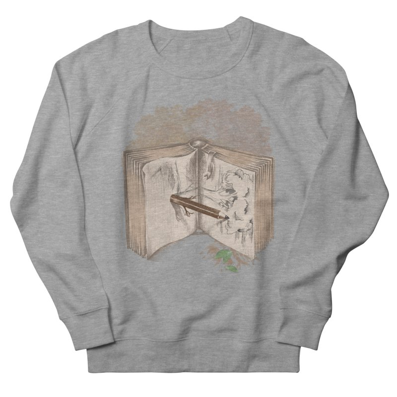 Real sketch Women's French Terry Sweatshirt by jackduarte's Artist Shop