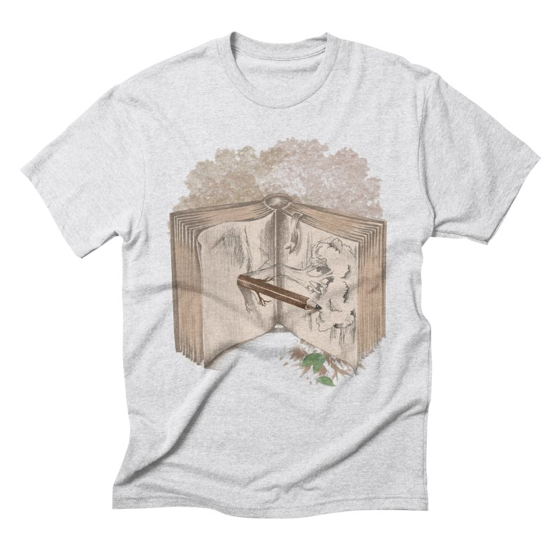 Real sketch Men's Triblend T-Shirt by jackduarte's Artist Shop