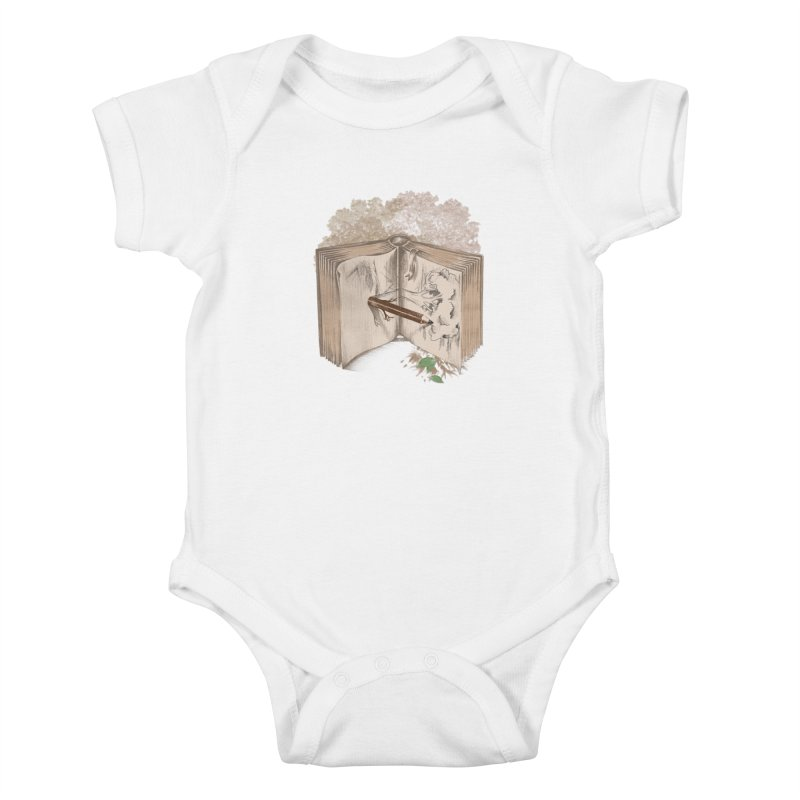 Real sketch Kids Baby Bodysuit by jackduarte's Artist Shop