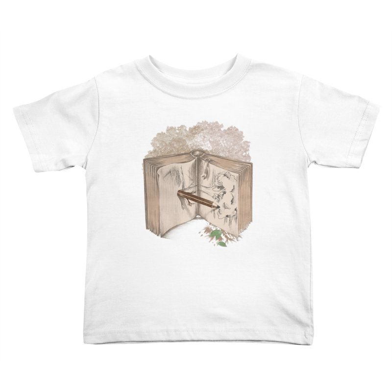 Real sketch Kids Toddler T-Shirt by jackduarte's Artist Shop