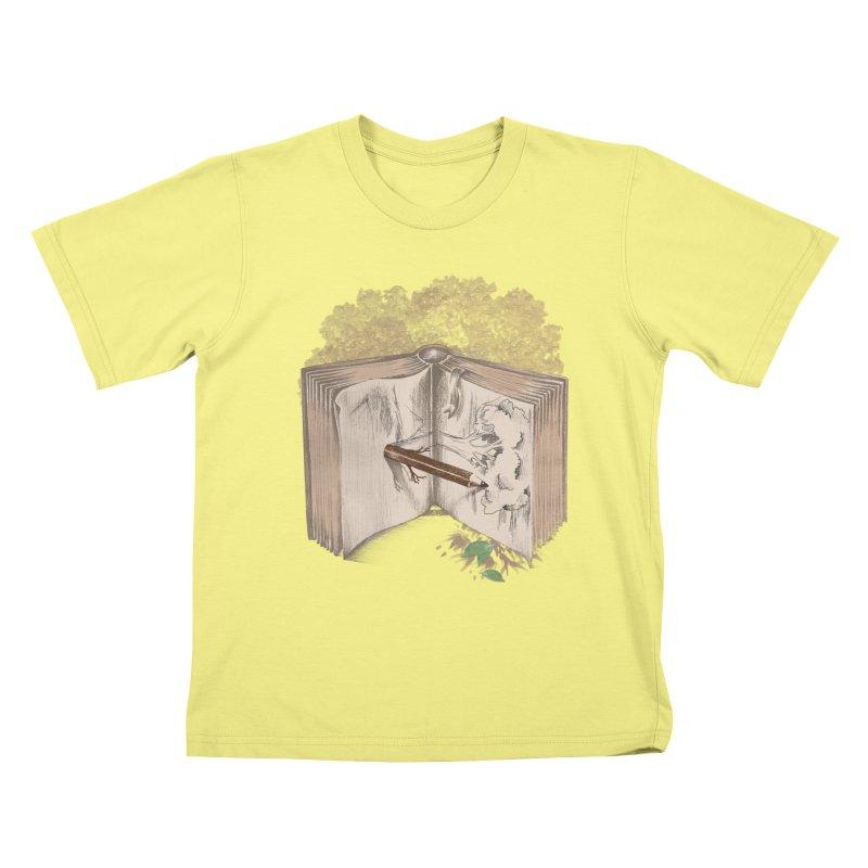 Real sketch Kids T-shirt by jackduarte's Artist Shop